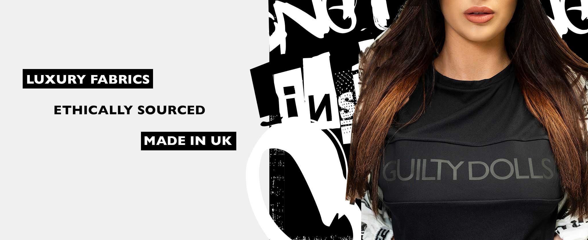 Guilty Dolls London | Activewear | Luxury Premium Leisurewear